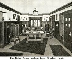 Interior View of Sears Ashmore