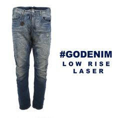#godenim low rise laser
