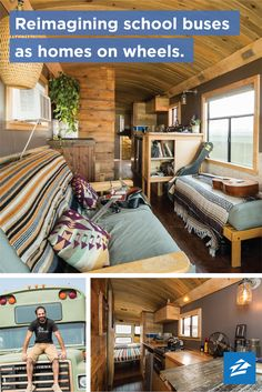 These customized living spaces give new meaning to �mobile homes.�