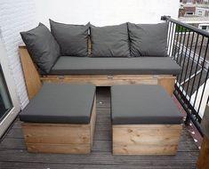 Balkon meubels   Interieur inrichting