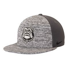 d6766edfa7a Georgia Bulldogs Nike Flyknit True Snapback Adjustable Hat - Heathered  Gray Anthracite