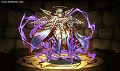 Archangel Lucifer stats, skills, evolution, location | Puzzle & Dragons Database