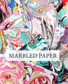 Once in a while I like to share products and supplies that I am loving and right now I can't get enough of Easy Marble (and no, this is no...