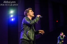 Caleb at their Anthem Lights concert in Grand Rapids, MI on Mar 22, 2015 (Photo Credit: Abby Lynn Haske).