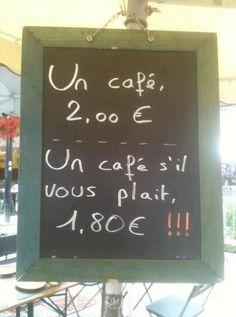 Coffee? Anyone?