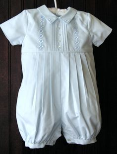 Simple and classic, this baby blue boy's christening outfit will keep your baby boy comfortable and well-dressed after the ceremony. Little Boy Outfits, Little Boy Fashion, Little Girl Dresses, Baby Boy Outfits, Kids Outfits, Kids Fashion, Blessing Dress, Baby Blessing, Boy Christening Outfit