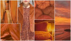 Terracota. Maintaining the steady intensity of F/W 15/16's Copper, Terracotta emerges with a strong orange undercurrent.