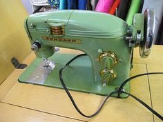 Just Some Eye Candy - Zundapp sewing machine