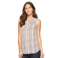 Women's Apt. 9 High-Low Hem Blouse