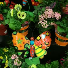 This cute and spring-y butterfly is a perfect addition to your flowers. #ACMEMarkets