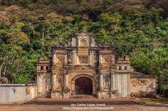 Ermita de la Santa Cruz in Antigua Guatemala