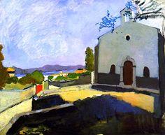 """St. Anne's Chapel"" Henri Matisse - 1904"
