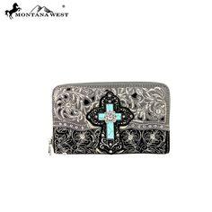 Montana West Cross Collection Wallet (MW213-W003) – Handbag-Addict.com