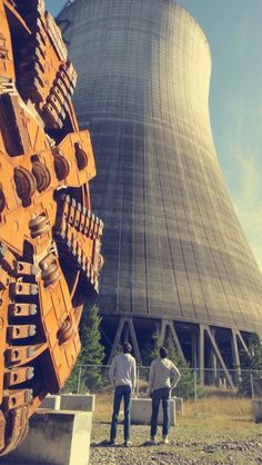 nuclear plant photos!  foxinthepine.com