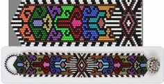 sistema per il braccialetto mosaico | biser.info - Perline e perline