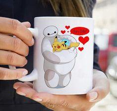 hair baby pikachu pokemon hero six for coffee Mug Two Sides Ceramic 11oz