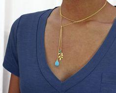 Lariat Necklace/bracelet in by GojoDesign,