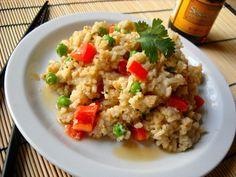 Thai Peanut Rice Pilaf