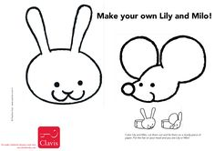 Make your own Lily and Milo!