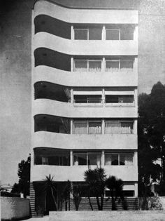 Edifício Barão de Limeira, Arqto Gregori Warchavchik, São Paulo 1939