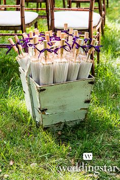 Paper Parasol with Bamboo Boning in our Equestrian Love Style Lookbook {wedding favour, wedding favor, rustic, vintage-inspired, outdoor wedding}