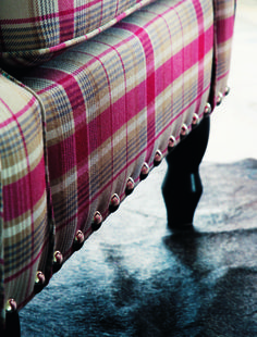 #LOVE #Plaids? Explore the change of #style guaranteed with this collection whose roots are deep in the heart of the mountains and enriched by skilfully controlled colourful modernism. #Fabrics from Mont Blanc, Camengo, #Goodrich.