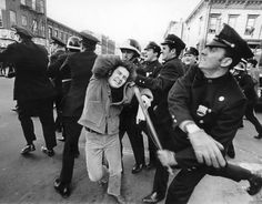 Dec. 2, 1968, student protests that grew and spread from a rally in Washington Square brought mayhem to several boroughs.