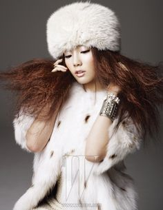 Girls' Generation's Taeyeon W Korea December 2010