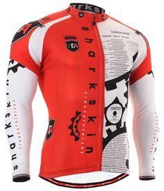 Men s cycling jersey bicycle clothes red biking shirt S~3XL 52473d42e