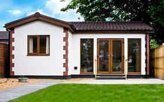 Case studies of recently completed Granny Annexe buildings in the UK with photos and measurements.