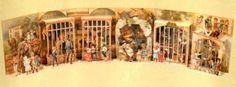Los actions books, también conocidos como libros desplegables, o por utilizar un término más moderno, los libros tridimensionales o 3D, no son un invento actual. Los niños victorianos ya podían disfrutar libros ilustrados y desplegables que eran auténticas obras de arte. Y no sólo los denominamos obras de arte por las preciosas y trabajadísimas escenas que mostraban las ilustraciones, sino porque los autores solían ser conocidos y respetadísimos artistas de la época.