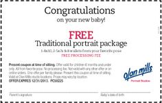 » Free Baby Portrait Package from Olan Mills. Bargain Hound Daily Deals