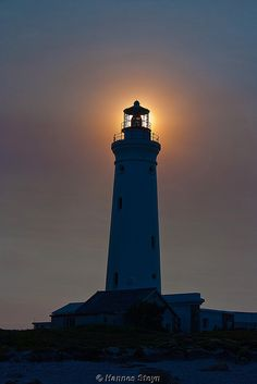 Like a lighthouse on a dark night, may your love for one another always shine brightly. ✯ Cape St Francis Lighthouse - South Africa