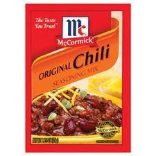 Copycat McCormick's Chili Seasoning