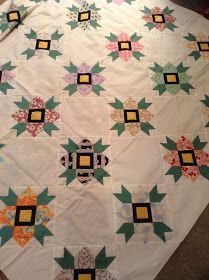 by friends in our little monthly gathering. We shared food, wonderful stimulating conversation, laughterand quilts.           ...