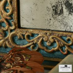 FARRAGOZ: How to paint a new plastic frame to look like an authentic antique ~ #2