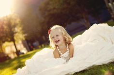 This is my daughter wearing my wedding dress. I got this idea from someone else on Pinterest. My sister-in-law took the photos. It is one of the coolest pictures I now have!