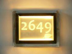 Marriott Renaissance NY - Corridor LED backlit room numbers Led Fixtures, Hospitality Design, Corridor, Light Decorations, Renaissance, Numbers, Lighting, Room, Bedroom