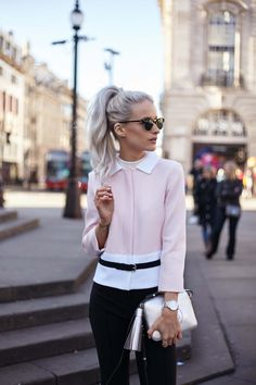 London fashion week outfit inthefrow.