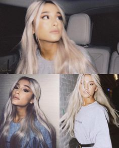 Ariana Grande's 10 Best Collaborations: Critic's Picks – Celebrities Woman Cabello Ariana Grande, Ariana Grande Outfits, Ariana Grande Fotos, Ariana Grande Pictures, Ariana Grande Hairstyles, Ariana Grande Wallpapers, Divas, Dangerous Woman, Grey Hair
