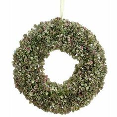 """18"""" Hydrangea Wreath Lavender Green (Pack of 2) by Silk Decor. $80.94. This listing is for 1 case. You will receive 2 items per case - 1 item shown in picture. Height - 18"""". 18"""" Hydrangea Wreath Lavender Green. Weight: 29.33 OZ (Pack of 2)Some assembly may be required. Please see product details. Some assembly may be required. Please see product details."""