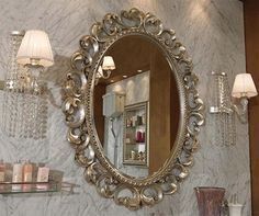 Ordinaire A Elegant Mirror.
