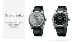 "Grand Seiko Homage to 1964 ""self dater"" 9F Caliber"