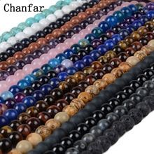 """Universe of goods - Buy """"Chanfar 4 6 8 10 Natural Stone Beads Black Lava Tiger Eye Bulk Loose Stone Beads For DIY Making Bracelet Necklace Jewelry"""" for only USD. Jewelry Making Beads, Bracelet Making, Jewelry Bracelets, Diy Bracelet, Jewelry Watches, Cheap Beads, Aliexpress, Stone Beads, Glass Beads"""