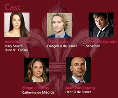 Megan Follows, Adelaide Kane, Gossip Girl, Bash And Mary, Reign Serie, François Ii, Reign Mary And Francis, Reign Tv Show, Tv Show Casting