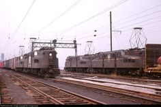 New haven railroad baldwin westinghouse ep 2 aka tiger 1 for New penn motor freight tracking