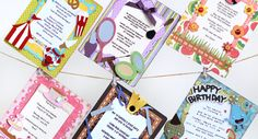 Thienly's Corner – Themed Birthday Party Invitations | SVGCuts.com Blog