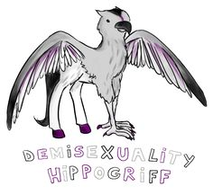 Marginalized sexual/romantic orientations represented as the real and very accurate mythical creatures they are.