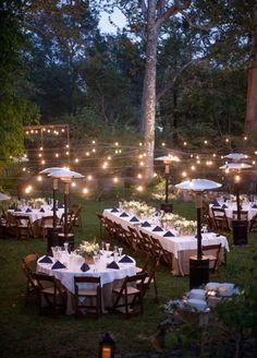 Intimate backyard outdoor wedding ideas 41