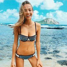 TRIANGL BRIGITTE IN AMERICAN GIRL TRIANGL BRIGITTE IN AMERICAN GIRL triangl swimwear Swim Bikinis